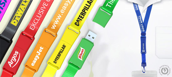 Lanyard promotional usb flash drives